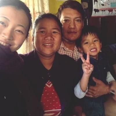 ネパールでチャイルドケア 井ノ上桃歌